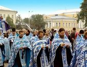 Religious procession — Stock Photo
