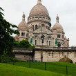 Basilique Sacre Coeur in Paris, France — Stock Photo