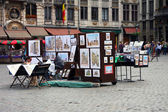 Artistic pictures of Grand Place , Brussels, Belgium. — Stock Photo