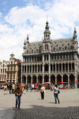 View of Grand Place , Brussels, Belgium. — Stock Photo