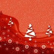 Christmas texture with fur-trees — 图库照片 #33073929