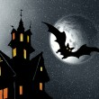 Halloween. Night — Stockfoto