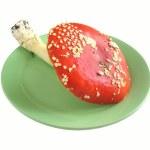 Red mushroom — Stock Photo #33126457