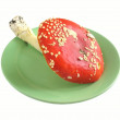 Red mushroom — Stock Photo