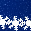Stock Photo: snowflakes