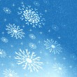 Blue Christmas background — Stock Photo #33128863