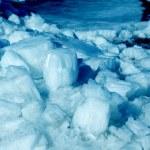 Blue ice — Stock Photo
