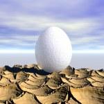 One egg — Stock Photo #33331241