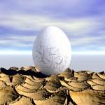 One egg — Stock Photo #33331243
