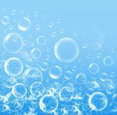 Water bubbles — Stock Photo