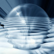 Abstract bubble — Stock Photo