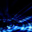 Abstract dark blue  background — Stock Photo