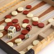 Game backgammon — Stock Photo