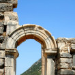 Stock Photo: Arc in antiquity greek Ephesus city .