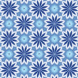 Abstract blue floral  background for design — Stock Photo