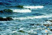 Sea waves — Stock Photo