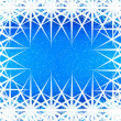 Christmas blue background — 图库照片