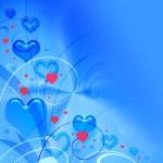 Valentines blue texture — Stock Photo