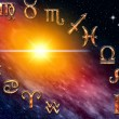 Twelve symbols of the zodiac — Stock Photo