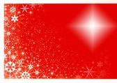 Christmas golden background — Stock Photo