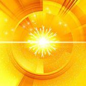 Christmas yellow cover — Stock Photo