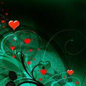 валентина сердца — Стоковое фото