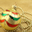 Christmas ball decoration — Stock Photo #35388571