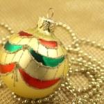 Christmas ball decoration — Stock Photo #35388571