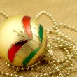 Christmas ball decoration — Stock Photo #35388579