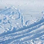 Snowy background — Stock Photo #35389975