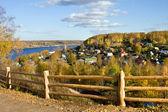 Ples town, Autumn — Stock Photo