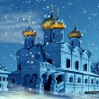 Christianity church in Russia — Stock Photo
