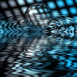 Abstraction picture wirh water — Stock Photo