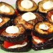 Appetizing dietetic food - aubergines — Stock Photo