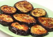 Appetizing dietetic aubergines — Stock Photo