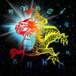 East symbol 2012 year - dragon — Stock Photo #35817545