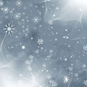 Grey monochromatic christmas background — Stock Photo