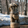 Sculpture Winter  scenery — Stock Photo