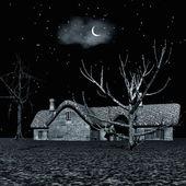 Dark night — Stock Photo