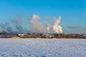 冬季风光 — 图库照片