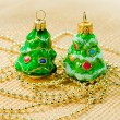 Christmas decorations -  toys  Christmas tree — Stockfoto