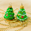 Christmas decorations -  toys  Christmas tree — Stock Photo