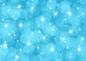 Abstraction blue Christmas background — Stock Photo