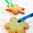 Festive gingerbreads — Stock Photo