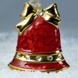 Stock Photo: Christmas red bell