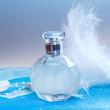Stock Photo: Bottle of perfume