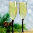 Champagne glasses — Foto de Stock