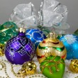 Christmas vibrant balls — Stock Photo #36176669