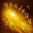 Zodiac symbols — Stock Photo
