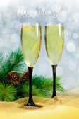 Champagne glasses — Stockfoto